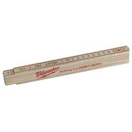 Тонкий деревянный складной метр Milwaukee 2м 4932459303