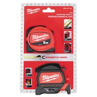 Промо набор Milwaukee рулетка 5м Premium + 5м SLIM 4932471126