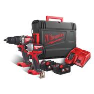 Набор аккумуляторных инструментов Milwaukee M18 BLPP2A2-502X 4933464522