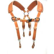 Подтяжки кожаные Kengu для поясной сумки