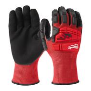 Перчатки Milwaukee с защитой от ударов и порезов уровень 3