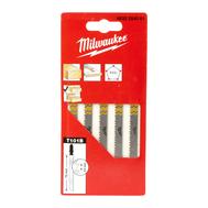 Полотна для лобзика для чистой резки дерева Milwaukee JIGBL T101B 75 мм 4932254061
