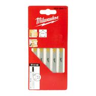 Полотна для лобзика для резки дерева и пластмассы Milwaukee T111C 75мм 4932254071