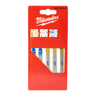 Набор полотен для лобзика 5 шт Milwaukee 4932345825