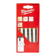 Полотна для лобзика для ламинированных материалов Milwaukee JIGBL T101BR 75 мм 4932346079
