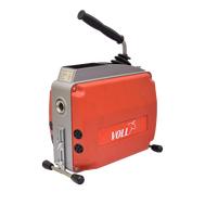 Электромеханическая машина для прочистки труб VOLL V-Clean 150 с принадлежностями ROTHENBERGER