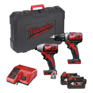 Набор инструментов Milwaukee M18 BPP2D-402C 4933447126