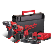 Набор инструментов Milwaukee M12 FPP2A-602X FUEL 4933459810