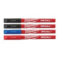 Ручки Milwaukee INKZALL Fine Tip Цветные (4шт) 48223165