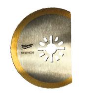 Полотно для мультитул с титановым напылением Milwaukee 80 мм 48900035