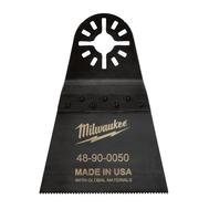 Полотно для мультитул Milwaukee 64 мм для резки металла, дерева, пластика и фибергласса 48900050