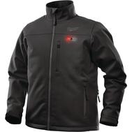 Куртка Milwaukee с подогревом черная M12 HJ BL4-0