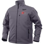 Куртка Milwaukee с подогревом серая M12 HJ GREY4-0