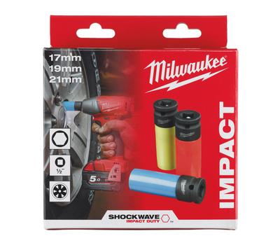 "Набор головок 1/2"" Milwaukee SHOCKWAVE AUVTOMOTIVE 4932451568"